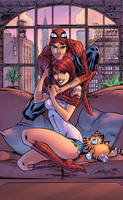 Mary Jane and The Spectacular Spiderman by J-Skipper