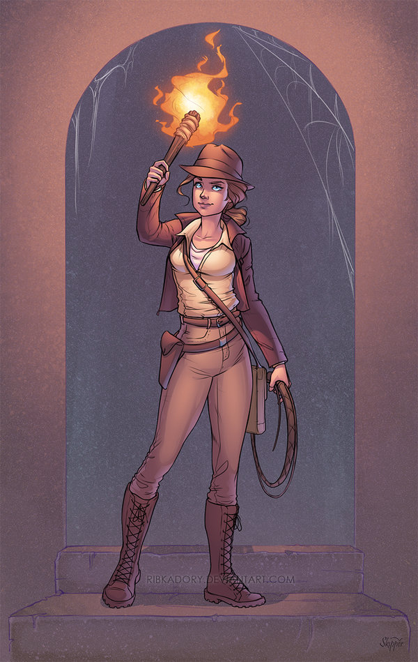 Indiana Jones by J-Skipper