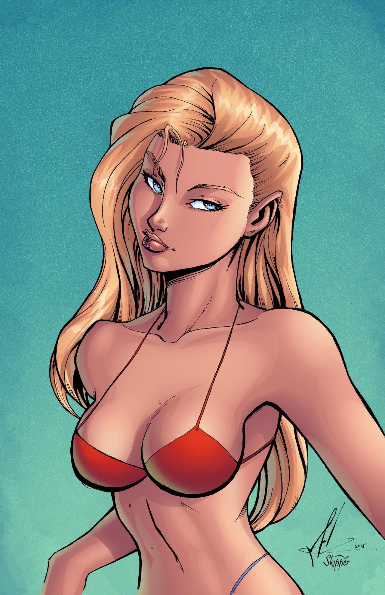 cartoon bikini girls Sexy