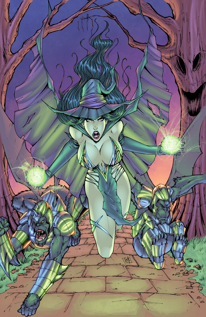 The Wicked Witch of Oz by J-Skipper