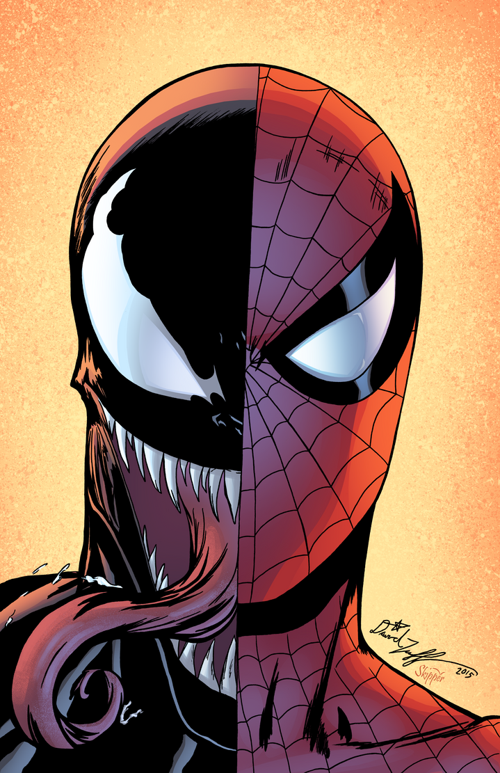 Venom spiderman art - photo#16