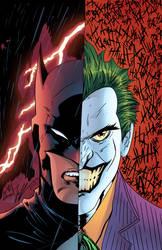 Batman and the Joker by J-Skipper