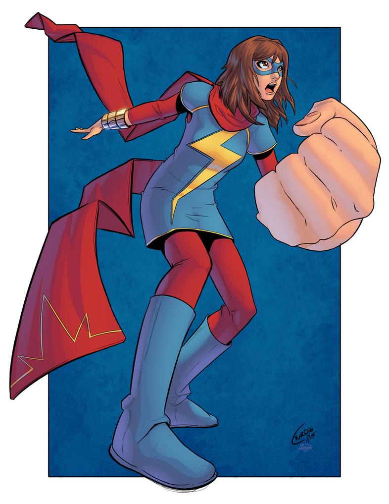 Ms Marvel by J-Skipper