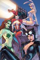 Gotham Girls by J-Skipper
