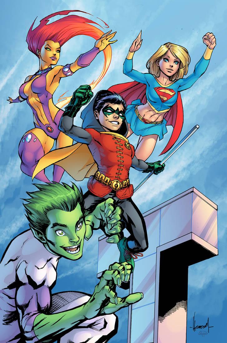 Teen Titans by J-Skipper