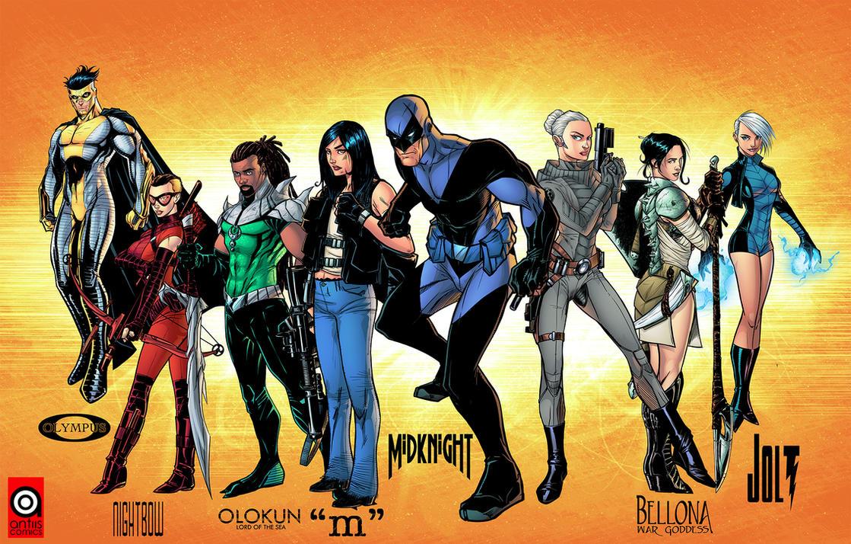 Antiis Comics Presents by J-Skipper