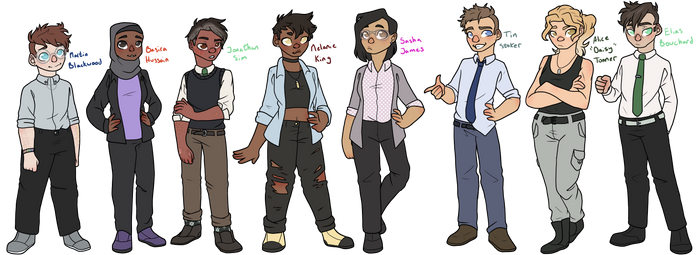 The Magnus Archives Staff
