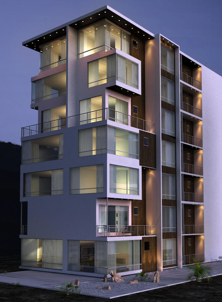 nice apartment building. apartment building wip by kasrawy  on DeviantArt