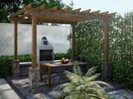 Backyard redesign - Dining zone