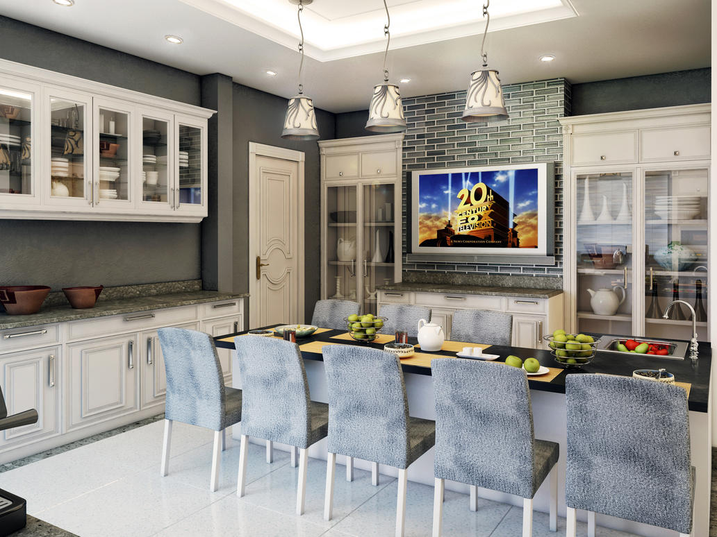 Kitchen Breakfast Table By Kasrawy On DeviantART