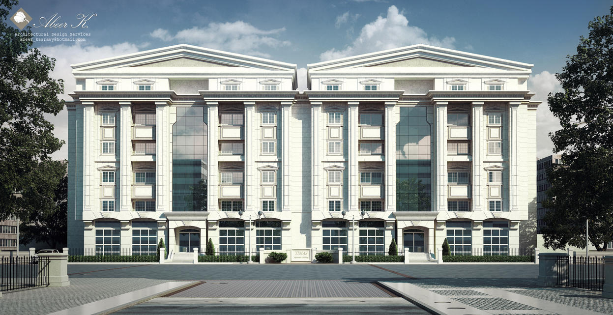 Classic Apartment Building By Kasrawy On DeviantArt