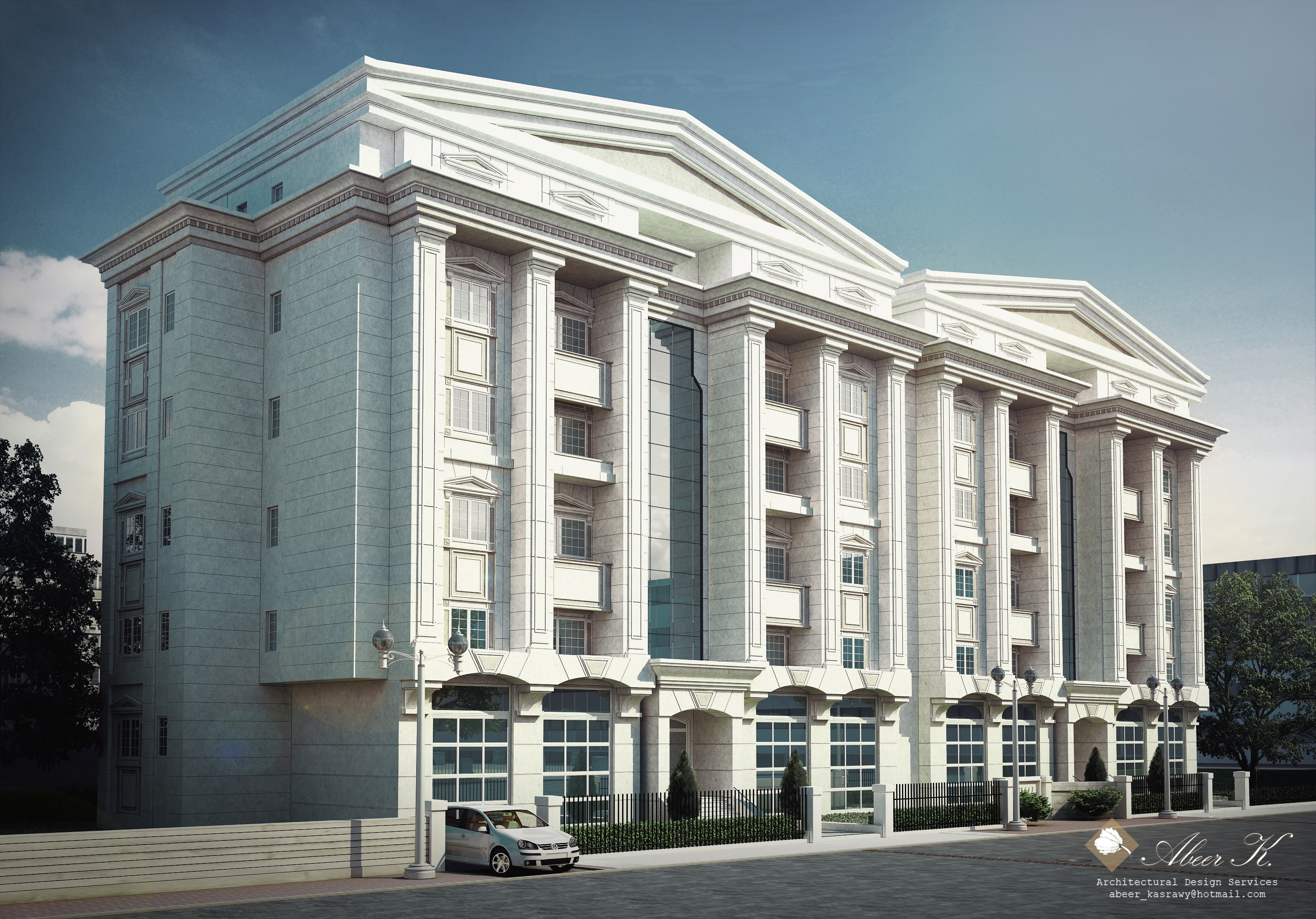 Classic apartment building by kasrawy on deviantart for Classic home builders