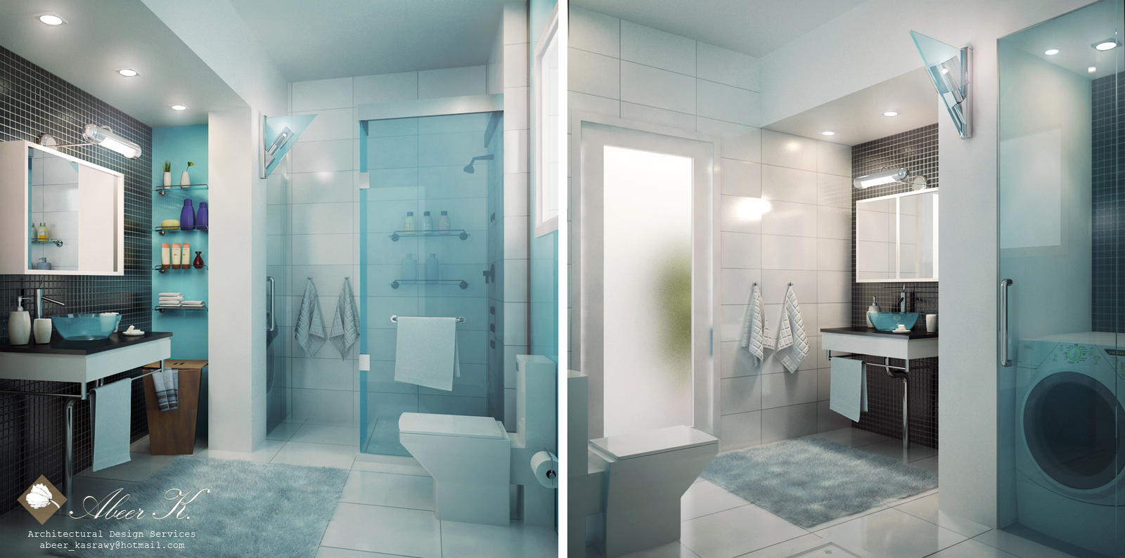 Apartment Master Bathroom modern apartment master bathkasrawy on deviantart