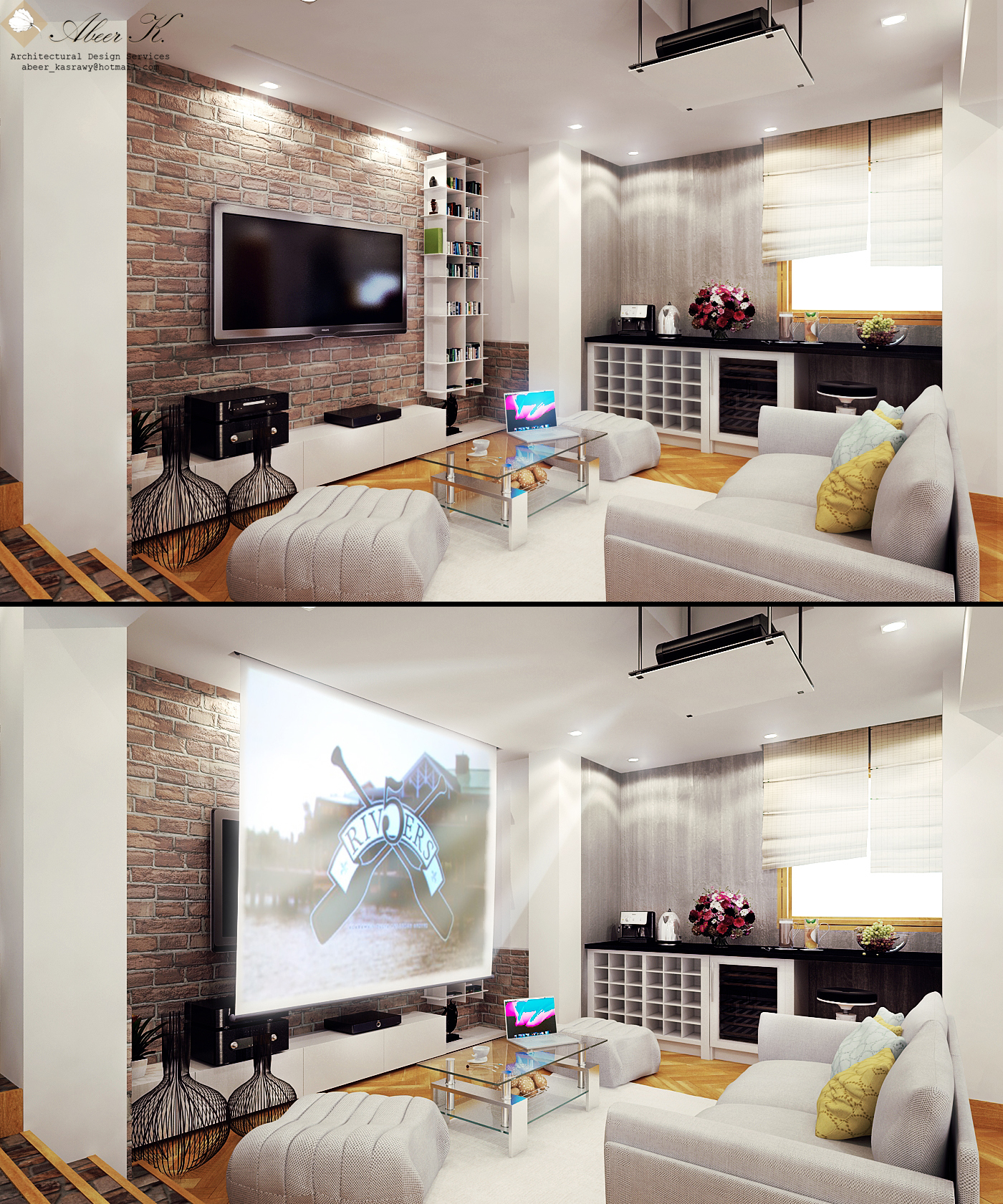 Modern Apartment Master Bedroom By Kasrawy On Deviantart