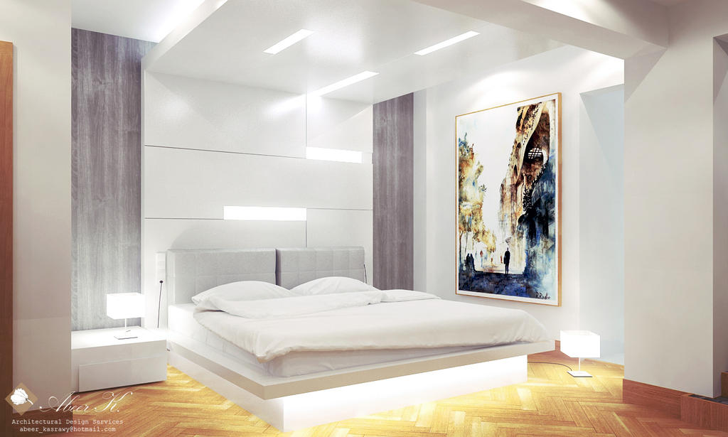 Modern apartment master bedroom by kasrawy on deviantart for Modern masters bedroom designs 2013