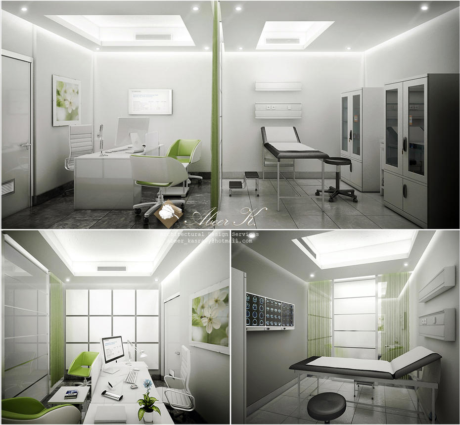 Clinic green by kasrawy on deviantart for Clinic design ideas