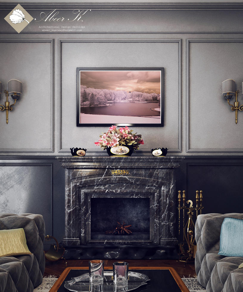 Fireplace by kasrawy