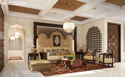 Islamic interior 1- Mr. Mahmoud N