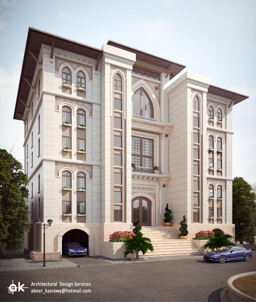 Ksa boutique hotel final exterior day 1 by kasrawy on for Hotel exterior design