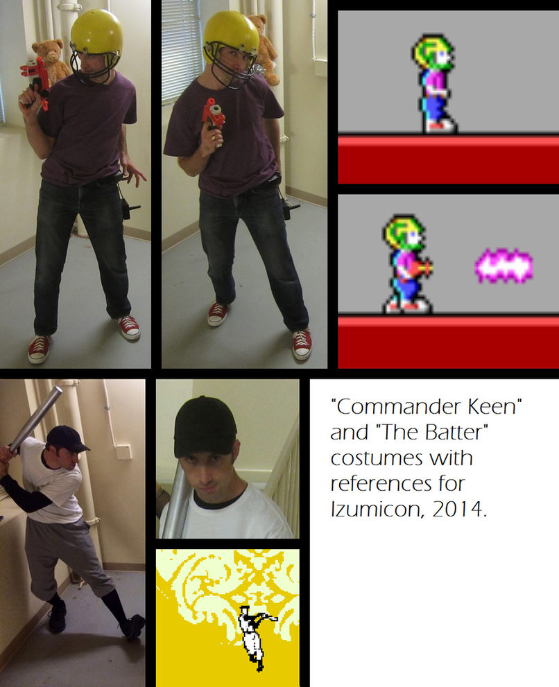 Commander Keen and The Batter cosplay - Izumicon by Willdabeast-0305