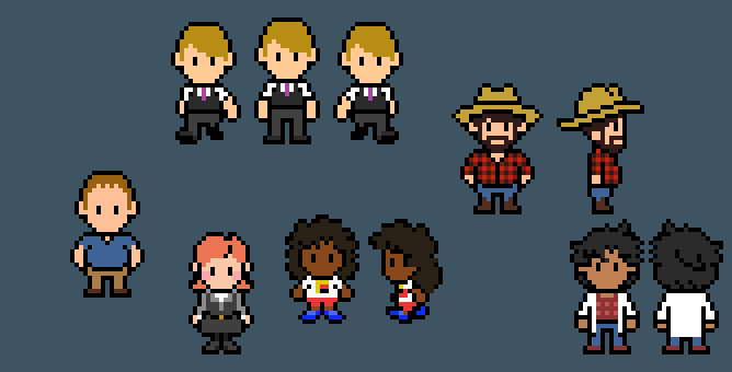 Nightvale Sprites by Willdabeast-0305
