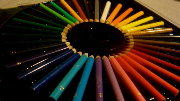 rainbow circle by mansikkakiivi