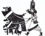 Lady Death N Hell Hounds
