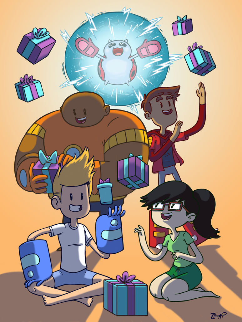 Bravest Warriors - Presents by NicParris