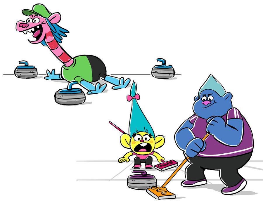 Curling Trolls 2 by NicParris