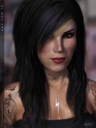 Kat Von 3D by vixelyn