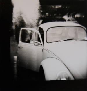 vw beetle pinhole