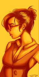 Yellow Glasses by twilign