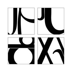 letterforms d by john-f