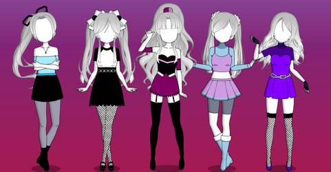 ::Cute Outfits Pack 3 {Kisekae Exports}::