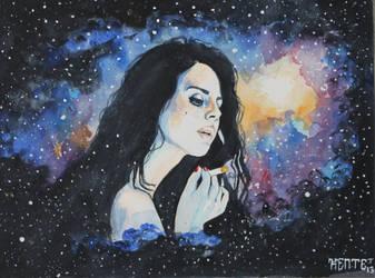 Lana Del Rey by KujirA-Ou