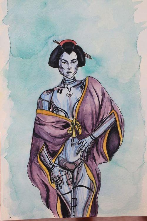 Metal Geisha by KujirA-Ou