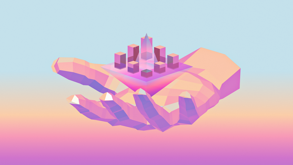 TINY CITIES WALLPAPER by Lobster-Kaito