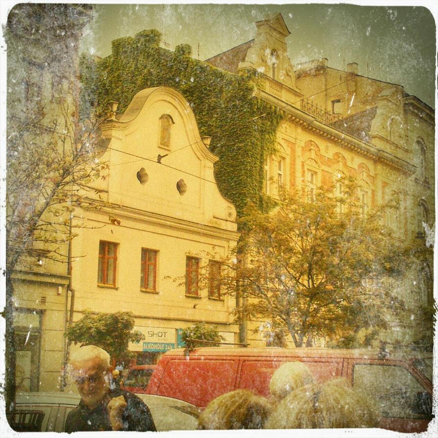 Krakow street by Swirro