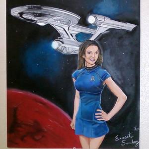 Stephanie Scientist Star Trek