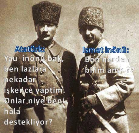 Ataturk ve ismet by SkudasLazepe2012