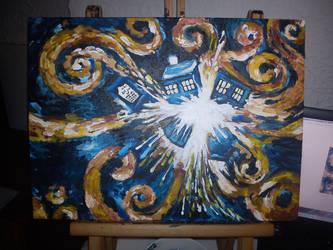 Doctor Who - vanGogh replica by Blacks-Bitch