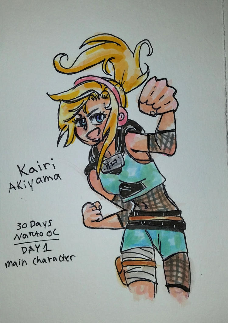 30days naruto oc 1 by Ila-Sweet