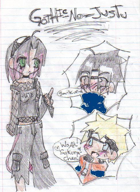 ::Sakura::Gothic-no-jutsu:: by Ila-Sweet