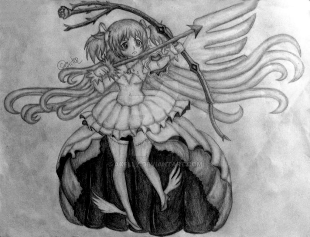 Madoka Kaname (Godess Version) by Axelly
