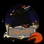Daemon Badge by PsionicCastor