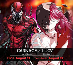 Next Time on Death Battle: Carnage vs Lucy by Blackace70