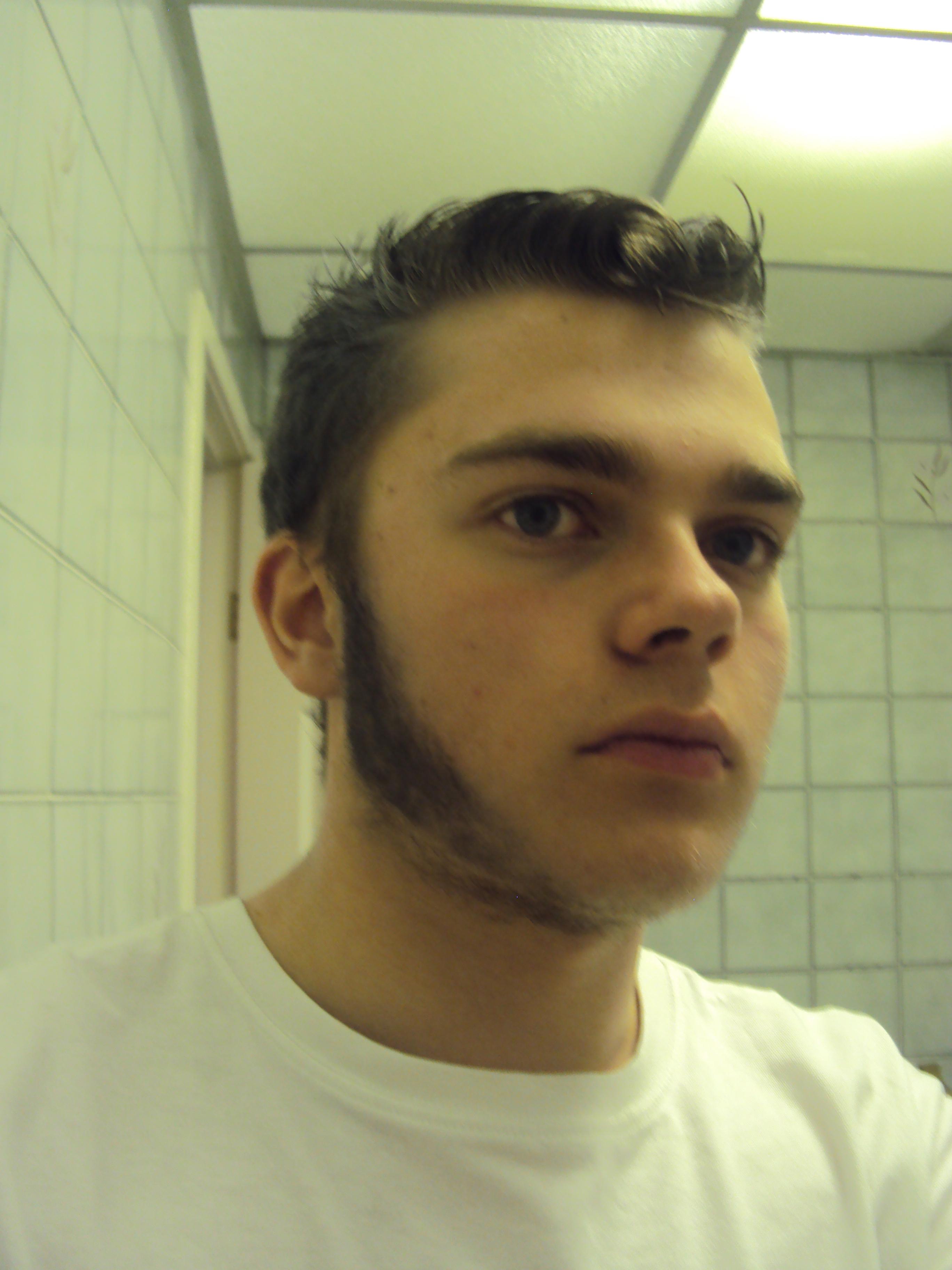 Wolverine Facial Hair by MadMatt1995