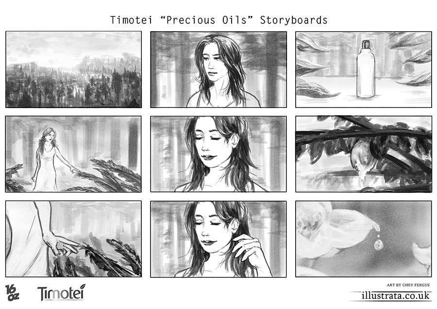 Timotei Storyboards - Precious Oils 1 By Chey-The-Illustrata On