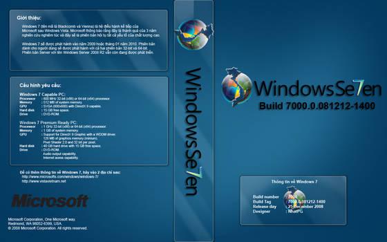Windows 7 Cover for Vietnamese