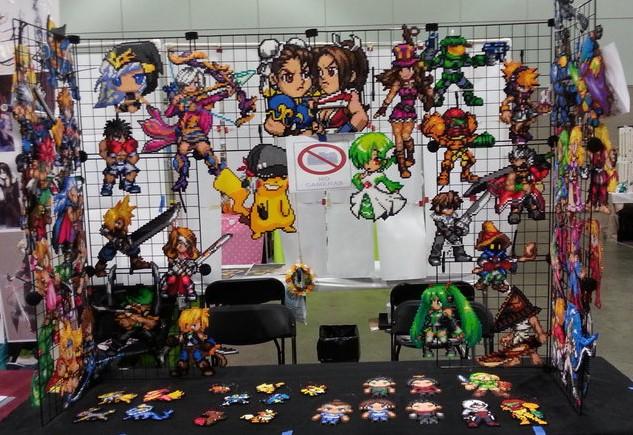 Anime Expo 2014 Set Up by VIITheGambler